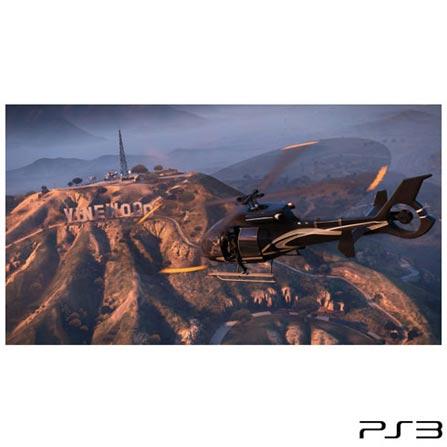 Jogo GTA Grand Theft Auto V para Playstation 3, GM