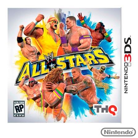 Jogo WWE All Stars para Nintendo 3DS, Nintendo 3DS, Luta, Game Card, 14 anos, Inglês, 03 meses, 7851383307162