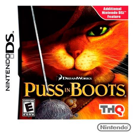 Jogo Puss In Botts para Nintendo DSi/DS, Nintendo DSi/DS, Ação, Game Card, Livre, Inglês, 03 meses, 7851383651906