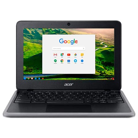 "Notebook - Acer C733-c6m8 Celeron N4000 1.10ghz 4gb 32gb Padrão Intel Hd Graphics 600 Google Chrome os Chromebook 14"" Polegadas"