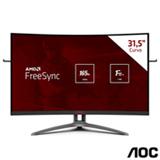 Monitor Gamer 31,5' AOC Agon Curved Widescreen com 300 milhões:1 max de Contraste - AG323FCXE