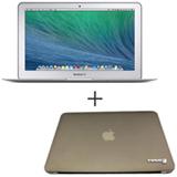 "MacBook Air, Intel® Core™ i5 Dual Core, 4 GB, 128 GB, Tela de 13,3"" - MJVE2BZ/A + Capa Cinza Yogo - 13AIRGREY"