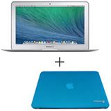 "MacBook Air, Intel® Core™ i5 Dual Core, 4 GB, 128 GB, Tela de 13,3"" - MJVE2BZ/A + Capa Azul Yogo - 13AIRBLUE"