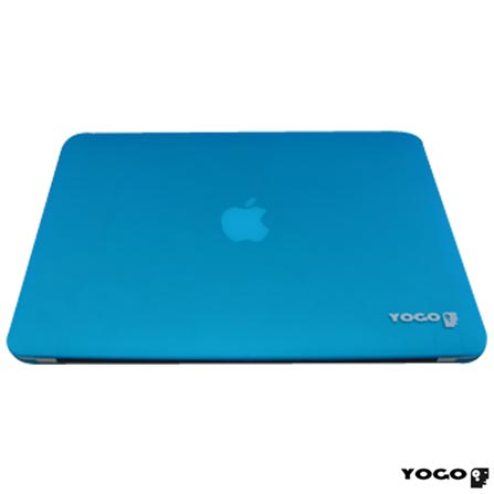 "MacBook Air, Intel® Core™ i5, 4GB, 256GB, Tela de 13,3"" - MJVG2BZ/A + Capa Azul Yogo - 13AIRBLUE, 0, Core i5 de até 13,9''"