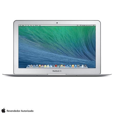 """MacBook Air, Intel® Core™ i5, 4 GB, 128 GB, Tela de 11,6"""" - MJVM2BZ/A + Capa para Macbook Air Cinza Yogo - YG11AIRGREY, 0, Core i5 de até 13,9''"""