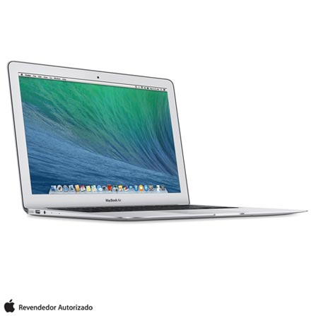 "MacBook Air, Intel® Core™ i5, 4 GB, 128 GB, Tela de 11,6"" - MJVM2BZ/A + Capa para Macbook Air Azul Yogo - YG11AIRBLUE, 0, Core i5 de até 13,9''"