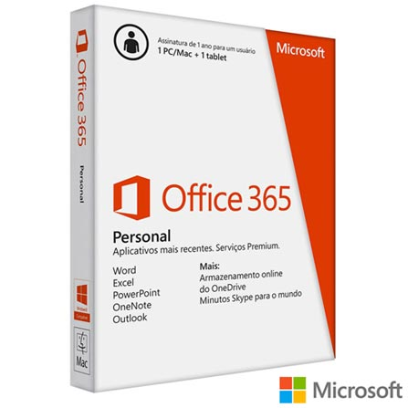"MacBook Air, 4GB, 256GB, Tela de 11,6"" - MJVP2BZ/A + Microsoft Office 365 Personal, 0, OS X Yosemite até 13,9''"