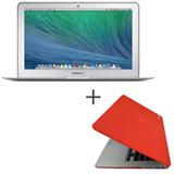 """MacBook Air, Intel® Core™ i5, 4GB, 256 GB e Tela de 11,6"""" - MJVP2BZ/A + Capa Vermelha Yogo -11AIRRED"""
