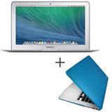 "MacBook Air, Intel® Core™ i5, 4GB, 256 GB e Tela de 11,6"" - MJVP2BZ/A + Capa Azul Yogo - 11AIRBLUE"