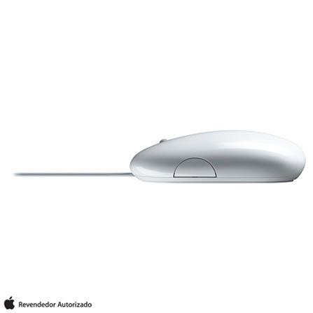 Mouse Branco Apple - MB112BEB, Branco, 12 meses