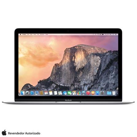 """MacBook, Intel® Core™ M, 8 GB, 256 GB, Tela de 12"""", OS X Yosemite, Prata - MF855BZ/A, Bivolt, Bivolt, Prata, 0000012.00, 256 GB, 000008, 1, APPLE, APPLE, N/A, CORE M, OS X Yosemite, 0000012.00, N/A, OS X Yosemite, Intel Core M, 8 GB, 256 GB, 12'', Até 13,9'', Retina, Não, Sim, Sim, Não, Não, Não, 12 meses"""