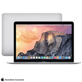 "MacBook, Intel® Core™ M, 8 GB, 512 GB, Tela de 12"", OS X Yosemite, Prata - MF865BZ/A"
