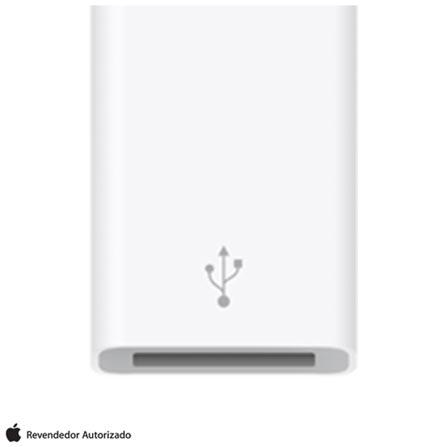 Adaptador para MacBook de USB-C para USB Branco - Apple - MJ1M2AM/A, Branco, Cabos e Adaptadores, 12 meses