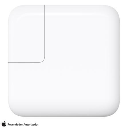 Carregador para MacBook USB-C de 29W Branco - Apple - MJ262BZ/A, Bivolt, Bivolt, Branco, Carregadores, 12 meses