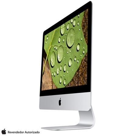 """iMac, Intel® Core™ i5, 8 GB, 1 TB, Tela de 21,5"""", OS X El Capitan, Intel Iris Pro Graphics 6200 - MK452BZA, Bivolt, Bivolt, Prata, S, 0000021.50, 1 TB, 000008, 1, INTEL, N/A, CORE I5, OS X El Capitan, 0000021.50, N/D, Intel Core i5, 8 GB, 1 TB, 21.5'', Retina, Sim, Sim, Não, Não, Não, 12 meses, APPLE"""