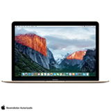 "MacBook com Intel® Core™ M3, 8 GB, 256 GB, OS X El Capitan, Tela de 12"", Dourado - MLHE2BZ/A"
