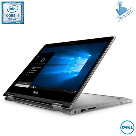 Notebook 2 em 1 Dell, Core i5-7200U, 8GB, 1TB, 13,3