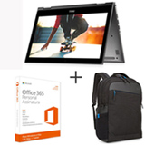 Notebook 2 em 1 Dell, i5-7200U, 8GB, 1TB, 13,3', Cinza, Inspiron 13 13-5378-A20C + Mochila Preta - 460-BCFE + Office 365