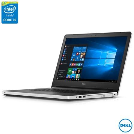Notebook Dell, Intel Core i5-5200U, 8GB, 1 TB, Tela de 14