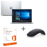 Notebook Dell, Intel i7, 16GB, 1TB, 14 - i14-7460-A30S + Mouse Wireless Preto - WM527 + Office 365 Personal por 01 ano