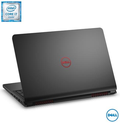 Notebook Dell, Intel Core i7, 16GB, 1TB+128 SSD, Tela 15,6, NVIDIA GeForce - i15-7559-A30 + Office 365, 1, Acima de 12'', Core i7 acima de 15''