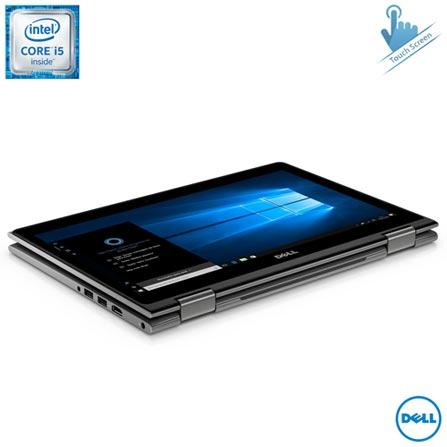 Notebook 2 em 1 Dell, Intel Core i5-6200U, 8GB, 1 TB, Tela de 13,3'', Inspiron Serie 5000 - i13-5368-A20, Bivolt, Bivolt, Cinza, 0000013.30, Não, Sim, 1 TB, 000008, 1, 12 meses, 1 TB, DELL, INTEL, 8 GB, 6200U, Sim, CORE I5, Intel Core i5, WINDOWS 10, Windows 10, 13.3'', Até 13,9'', Sim, 0000013.30, LED Touchscreen, N/A, Sim, Não