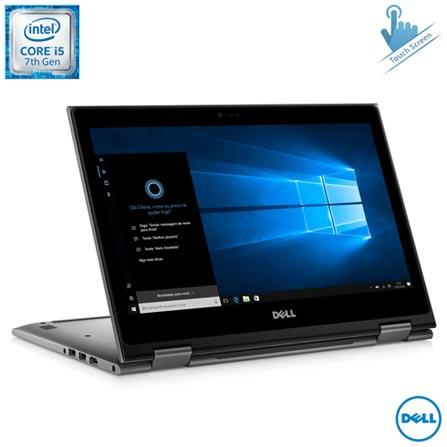 Notebook 2 em 1 Dell, Intel® Core™ i5-7200U, 8GB, 1TB, Tela de 13,3