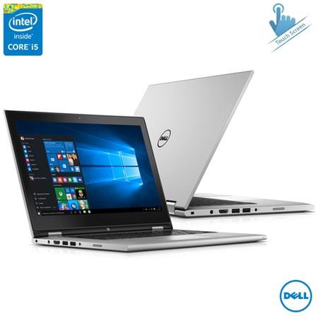 """Notebook 2 em 1 Dell, Intel® Core™ i5-5200U, 4 GB, 500 GB, Tela de 13,3"""" Touch - i13-7348-C20, Bivolt, Bivolt, Não se aplica, 0000013.30, Não, Sim, 500 GB, 000004, 1, 12 meses, 500 GB, DELL, INTEL, 4 GB, 5200U, Sim, CORE I5, Intel Core i5, WINDOWS 10, Windows 10 Home, 13.3'', Até 13,9'', Sim, 0000013.30, LED Touchscreen, N/A, Sim, Não"""