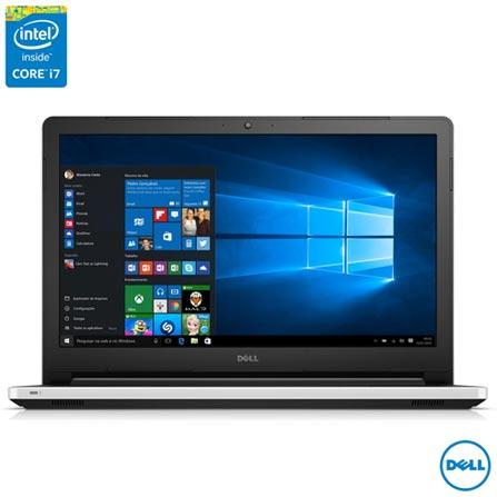 """Notebook Dell, Intel® Core™ i7-5500U, 8 GB, 1 TB, Tela de 15,6"""", NVIDIA 920M - Inspiron 15 5000, Bivolt, Bivolt, Branco, 0000015.00, Não, Sim, 1 TB, 000008, Não, 1, 12 meses, 1 TB, DELL, INTEL, 8 GB, 5500U, Sim, CORE I7, Intel Core i7, WINDOWS 10, Windows 10, 15.6'', Acima de 15'', 0000015.60, LED, DVD RW, Não, Sim"""
