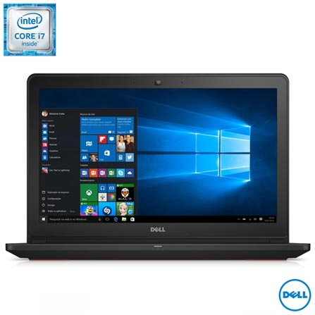 """Notebook Dell, Intel® Core™ i7, 16GB, 1TB+128 SSD, Tela 15,6"""", NVIDIA® GeForce® GTX 960M, Gaming Edition - i15-7559-A30, Bivolt, Bivolt, Preto, 0000015.60, Não, Sim, 1 TB, 000016, Não, 1, 12 meses, 1 TB, DELL, INTEL, 16 GB, 6700HQ, Sim, CORE I7, Intel Core i7, WINDOWS 10, Windows 10, 15.6'', Acima de 15'', 0000015.60, LED, N/D, Não, Não"""