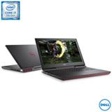 """Notebook Dell, Intel® Core™ i7 7700HQ Quad Core, 16GB+256 GB SSD, 1TB, Tela 15,6"""", NVIDIA® GeForce® GTX - i15-7567-A30P"""