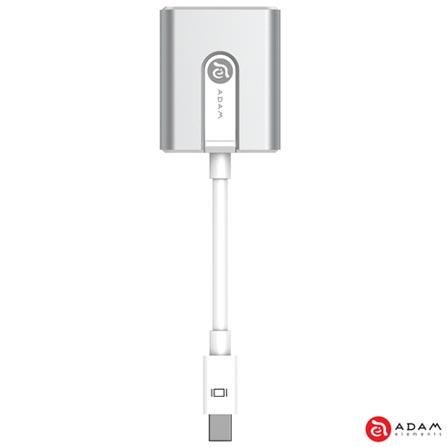 Adaptador M1 para MacBook e MacBook Pro Mini DisplayPort para VGA - Adam Elements - AAPADM1SL, Prata, Adaptadores, 12 meses