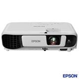 Projetor Epson 3LCD com Conexão USB e HDMI - S41+