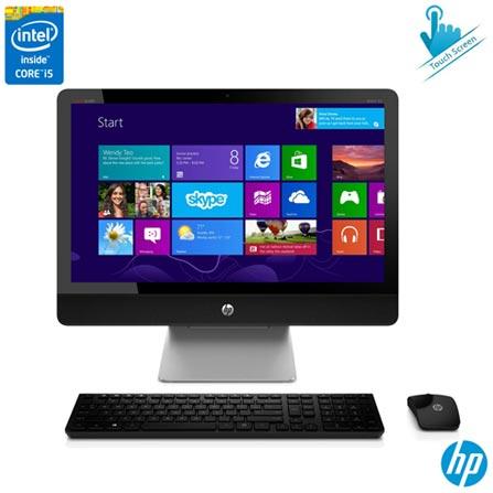 Computador All-in-One HP Envy Recline Preto e Prata com Intel Core i5, 8GB e HD de 1TB + Software McAfee LiveSafe, 0