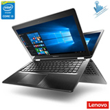 "Notebook 2 em 1 Lenovo, Intel® Core™ i3 5005U, 4 GB, 500 GB, Tela de 14"" - 80NE000CBR"