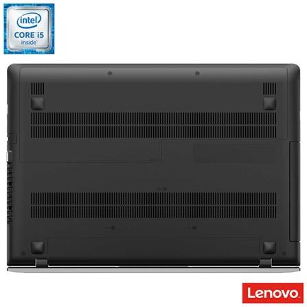 Notebook Lenovo, Intel® Core™ i5-6200U, 8GB, 1 TB, Tela de 15,6'', AMD Radeon R5 M330, Ideapad 300 - 80RS0002BR, Bivolt, Bivolt, Prata, 0000015.60, Não, Sim, 1 TB, 000008, Não, 1, 12 meses, 1 TB, LENOVO, INTEL, 8 GB, 6200U, Sim, CORE I5, Intel Core i5, WINDOWS 10 HOME, Windows 10 Home, 15.6'', Acima de 15'', 0000015.60, LED, DVD RW, Não, Sim