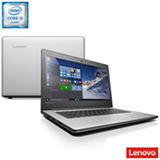 Notebook Lenovo, Intel Core i3-6006U, 4GB, 1TB, Tela de 14'' Ideapad - 80UG0009BR