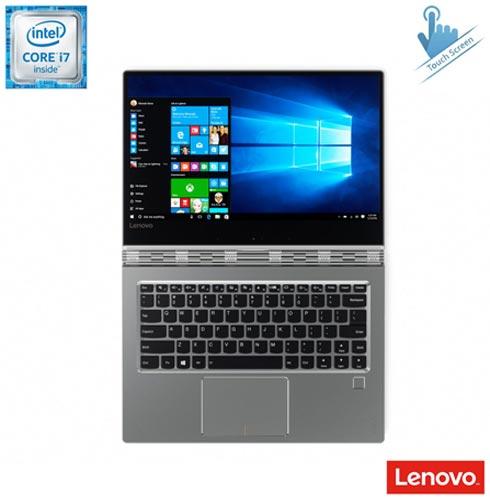 Notebook 2 em 1 Lenovo Yoga 910, Intel® Core™ i7 7500U, 8 GB, 256 GB, Tela de 13,9