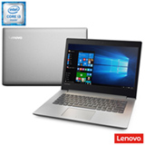 "Notebook Lenovo IdeaPad 320 Full HD 14"", Intel® Core™ i3-6006U, 4GB, 1TB, Prata"