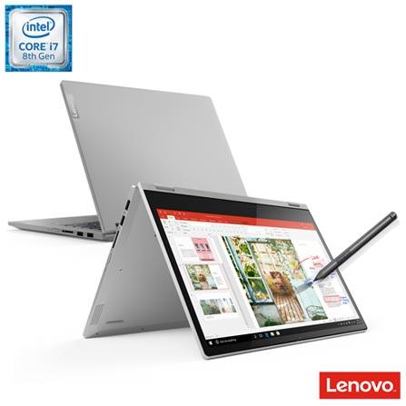"Notebook - Lenovo 81rl0001br I7-8565u 4.0ghz 8gb 256gb Ssd Intel Hd Graphics 620 Windows 10 Home Ideapad C340 14"" Polegadas"