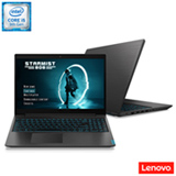Notebook Lenovo, Intel® Core™ i5 9300HF, 8GB, 1TB, Tela  de 15,6', GeForce® GTX 1050, Preto, Ideapad L340 - 81TR0003BR