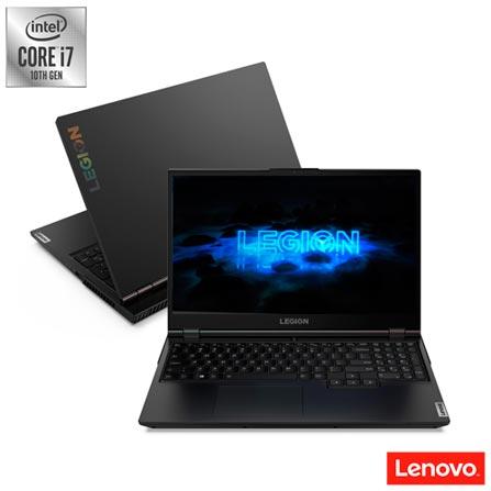 """Notebookgamer - Lenovo 82cf0004br I7-10750h 2.60ghz 16gb 128gb Híbrido Geforce Rtx 2060 Windows 10 Home Legion 5i 15,6"""" Polegadas"""