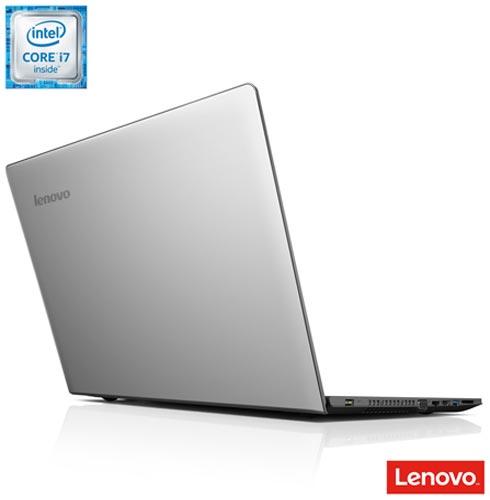 Notebook Lenovo Intel Core i7-6500U, 16GB, 1 TB, Tela de 15,6'', AMD Radeon R5 M330 - 80RS0005BR + Office 365 Personal, 0, Acima de 12'', Core i7 acima de 15''