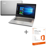 Notebook Lenovo, Intel Core i3 6006U, 4GB, 1TB, 14', Prata, Ideapad 320 - 80YF0005BR + Office 365 01 ano de Assinatura