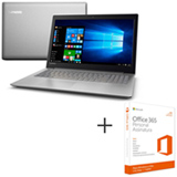 Notebook Lenovo i5 7200U, 8GB, 1TB, 15,6' Nvidia GeForce 940MX Ideapad 320 80YH0007BR + Office 365 01 ano de Assinatura