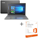 Notebook Lenovo Ideapad 320 Full HD 15.6, Core i7-8550U, 8GB, 1TB, Nvidia GeForce MX150 4GB - 81G30000BR + Office 365