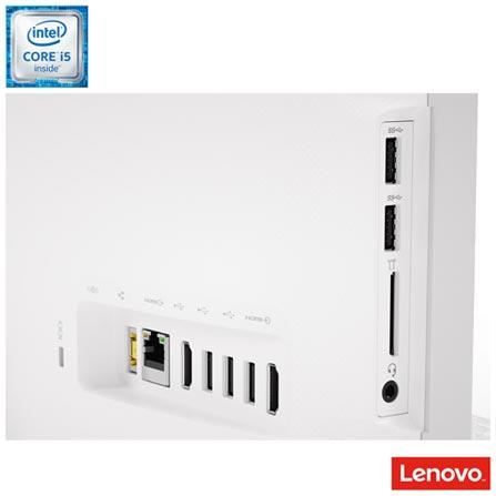 Computador All in One Lenovo, Intel Core i5-6400T, 4GB, 1TB, Tela de 21,5