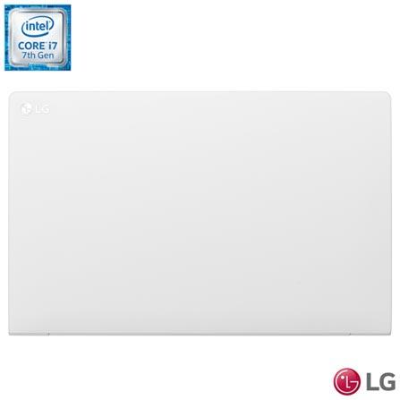 Notebook LG, Intel® Core™ i7-7500U, 8GB, 256GB, Tela de 15,6'', Intel HD Graphics 620, Branco, Gram - 15Z970-E.BH91P1, Bivolt, Bivolt, Branco, 0000015.60, Não, Sim, 256 GB, 000008, Não, 1, 12 meses, 256 GB, LG, INTEL, 8 GB, 7500U, Sim, COREI7, Intel Core i7, WINDOWS 10, Windows 10, 15.6'', Acima de 15'', 0000015.60, LED, N/D, Não, Não