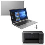 Notebook LG, Core i5, 8GB, 256GB, 14 Titanio - 14Z980-G.BH51P1 + Impressora Multifuncional Epson Jato de Tinta - L4150