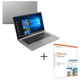 Notebook LG, Core i5 8250U 8GB, 256GB, Tela de 14 Titanio + Microsoft Office 365 Personal para PC e Mac